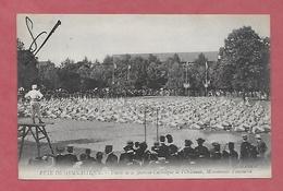 45 - Fête De Gymnastique. Orléans. Union De La Jeunesse Catholique De L'Orléanais: Mouvements D'ensemble - Manifestations