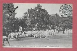 45 - Fête De Gymnastique. Orléans. Union De La Jeunesse Catholique De L'Orléanais : Le Défilé - Manifestations
