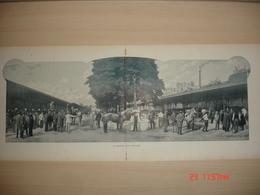 Lamina-Paris-1900--La Marche Aux Chevaux----Boulevard De L'Hospittal - Ancianas (antes De 1900)