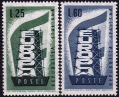 Italie - Europa CEPT 1956 - Yvert Nr. 731/732 - Michel Nr. 973/974  ** - 1956