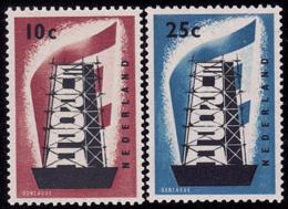 Pays Bas - Europa CEPT 1956 - Yvert Nr. 659/660 - Michel Nr. 683/684  ** - 1956