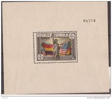 ES764STV-L3947TEUESHCOM.España Spain Espagne HOJITA DE LA CONSTITUCION USA 1938 (Ed 764**) Sin Charnela MAGNIFICA - Fogli Ricordo