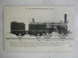 FERROVIAIRE - Locomotive - Coll. F. Fleury - Machine Tender Engerth à Vapeur Saturée Pour Lignes Forte Rampe - P.L.M. - Trains