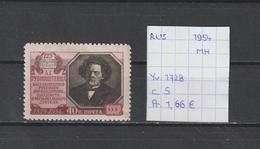 USSR 1954 - Yv. 1728 Postfris Met Plakker/neuf Avec Charnière/MH - 1923-1991 USSR