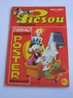 PICSOU MAGAZINE N°60 Avec Son POSTER !!!!    **** EN ACHAT IMMEDIAT **** - Picsou Magazine