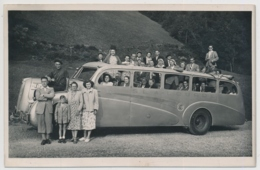 Vacances 1949 - Reisecar SLALOURDE Mit Reisegesellschaft - Personnes Anonymes