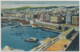 Alger - Vue Genérale Prise De L'Amirauté - Algiers