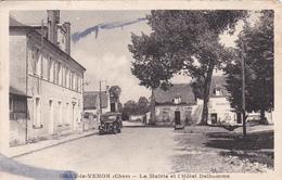 Uzay Le Venon -  La Mairie Et L'hôtel Delhomme - Autres Communes
