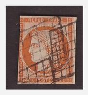 Timbre N° 5 Obl 2ième Choix - 1849-1850 Ceres