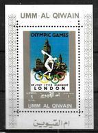 UMM AL QIWAIN  BF   * *  Jo 1948 Logo - Summer 1948: London