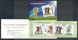 North Korea, 2014 World Cup, Booklet - 2014 – Brazilië
