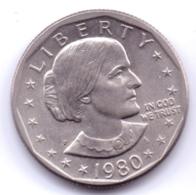 U.S.A. 1980: 1 Dollar, KM 207 - Federal Issues