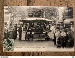MARSEILLE : Un Marchand De Coquillages  .................... OD-4605 - Canebière, Centre Ville