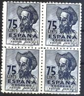 España 1013 ** B4. Quijote. 1947 - 1931-50 Unused Stamps