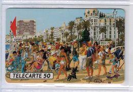 D340 - Nice - Promenade Des Anglais - Peinture To Coullet - TELEPUCE - Voir Scans - Nouvelle-Calédonie