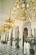 "ASIE. PHILIPPINES. MANILLE. ."" THE MANILA HOTEL "" . RÉCEPTION. ANNEE 1981 + TEXTE - Philippines"