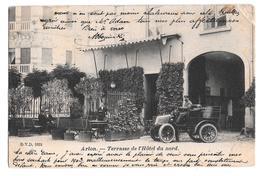 Arlon Terrasse De L'hotel Du Nord D V D 9621 1903 - Arlon