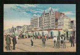 Blankenberge - 1922 - Une Partie De Croquet Sur La Plage - Blankenberge