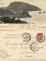Ukriane Russia, AYU-DAG Аю-Даг, Crimea, Gurzuf And Bear Mountain (1903) Postcard - Ukraine
