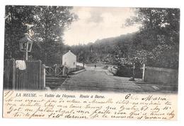 La Mause Vallée Du Hoyoux Route à Barse 1905 Th Van Den Heuvel - Modave