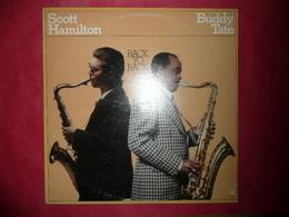 LP N°3225 - THE SCOTT HAMILTON & BUDDY TATE - BACK TO BACK - CJ-85 - Jazz