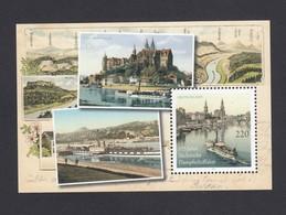 Germany 2011: 170 Years Of Saxon Steam Navigation, Ship, Landscape, Castle  MNH - Schiffe