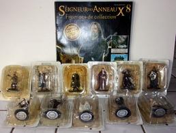 """Lot De 11 Figurines """"Seigneur Des Anneaux"""" Eaglemoss - Lord Of The Rings"""