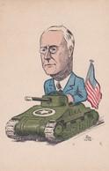Tank Américain Président Roosevelt - Humoristiques