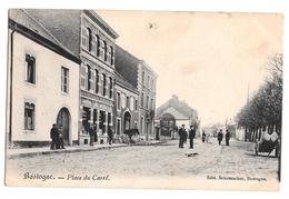 Bastogne Place Du Carré Edit Schumacher 1904 - Bastogne