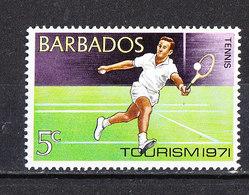 Barbados - 1971. Tennis MNH - Tennis