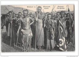 CPA Watusei U Warundi Leute Deutsch Ost Afrika - Tanzanie