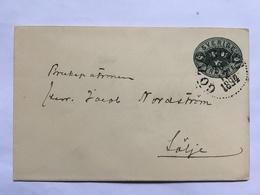 SWEDEN 1894 Cover Pre-paid - Fyra Ore Rate - Goteborg Postmark - Sweden
