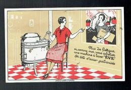 CPA Publicité Seurot Marchais Quincaillerie Recey Sur Ource - Machine à Laver Eve - 1930 Waton Saint Etienne - Publicité