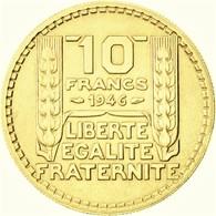 Monnaies, Gouvernement Provisoire, 10 Francs Turin  1946  OR PL - Or