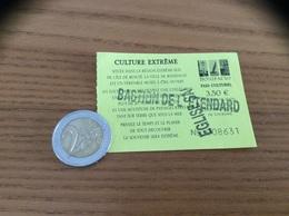 """Ticket D'entrée * Pass Culturel BONIFACIO (CORSE) """"Escalier Du Roy D'Aragon, Eglise ST Dominique, Bastion De L'Etendard"""" - Toegangskaarten"""