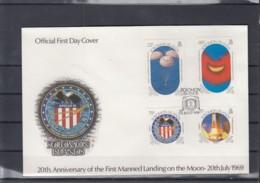 Salomon Inseln Michel Cat.No. FDC 706/711 + Sheet 27 Apollo 16 - Isole Salomon