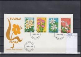 Tuvalu Michel Cat.No. FDC 79/82 Flowers - Tuvalu