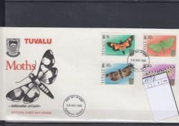 Tuvalu Michel Cat.No. FDC 125/128 Moth - Tuvalu