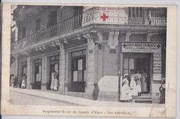 ALGER Dispensaire-Ecole Vue Extérieure Croix-Rouge Française Union Des Femmes De France Infirmière Algérie Grande Guerre - Algiers