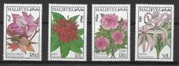 MALDIVES 1986 FLOWERS MNH - Altri