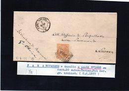 CG29 - Lettera Da Fara Novarese Per Novara 6/6/1877 - Marcophilia