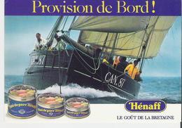 VOILIERS. CP Vieux  Grément En Mer D'Iroise Pour Pub Hénaff - Sailing Vessels