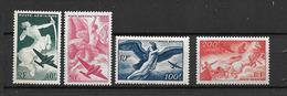 FRANCE 1946/47 Poste Aérienne  Série De 4 Valeurs N°16 à 19   NEUFS - 1927-1959 Mint/hinged