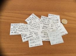 Lot Ticket De Cinéma MULTIPLEXE LIBERTE BREST (29) Dos Nus (18 Pièces) - Toegangskaarten