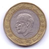 TUNISIE 2002: 5 Dinars, KM 350 - Tunisie