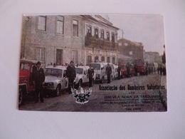 Firefighters Pompiers Bombeiros Voluntários Vila Nova De Barquinha Portugal Portuguese Pocket Calendar 1986 - Calendarios