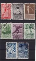 #11410 Russia - Soviet Union 1938, Full Set Used, Michel  657 - 664: Sports - 1923-1991 URSS
