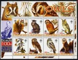 IRAQI KURDISTAN - Micronation - 1998 - World Wildlife Fund - Perf 8v Sheet - Mint Never Hinged - Asia (Other)
