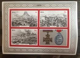 South Africa 1979 RSA, Zulu Isandlwana Ulundi Rorke's Drift John Chard Medal War **, MNH - Zuid-Afrika (1961-...)