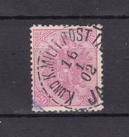 Bosnien Und Herzegowina - 1900/1901 - Michel Nr. 16 Y - Gest - 100 Euro - Bosnie-Herzegovine